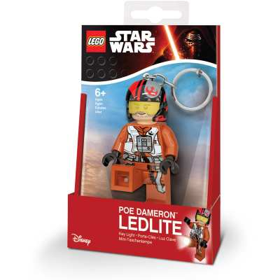 4895028513245 Porte-cles Lego Star Wars Poe Dameron