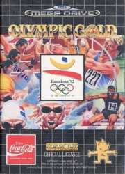5013442552483 Olympic Gold Barcelona 92 Sega Mega Drive MD