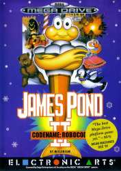 5015839199004 James Pond II Code Name Robocod FR Sega Mega Drive MD
