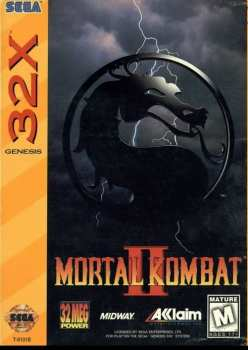 3455198100532 Mortal Kombat II SEGA Megadrive 32X