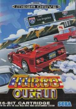 4974365611231 Turbo Out Run Sega Mega Drive