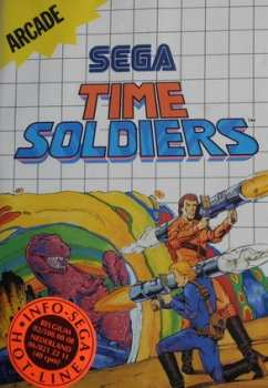 4974365634247 Time Soldiers FR Master System MS