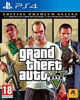 5026555424301 Grand Theft Auto V Edition Premium Online PS4