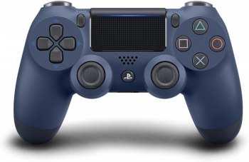711719874263 CONTROL PAD WIRELESS DUALSHOCK 4 OFFICIEL MIDNIGHT BLUE V2 - PS4