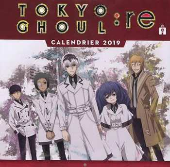 9782376970125 Tokyo Ghoul Calendrier 2019