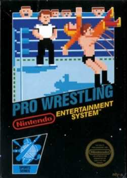5510105140 Pro Wrestling Nintendo NES