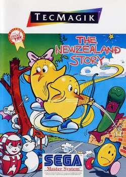 5021093160971 The Newzealand Story Mastersystem