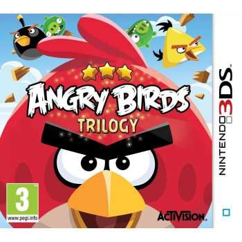 5030917116018 ngry Birds Trilogy 3DS