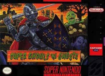 5510105292 Super Ghoul S N Ghost US SNES