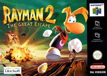 5510105293 Rayman 2 Great Escape FR N64