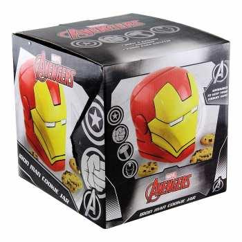 5055964701833 Boite A Biscuits Iron Man Rouge Et Jaune
