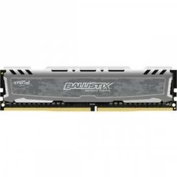 649528778130 Barette Memoire Ram DDR4 Ballistix Sport 2400 1X8GB