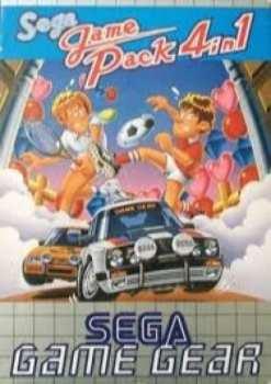5510105474 Sega Game Pack 4 Game Gear