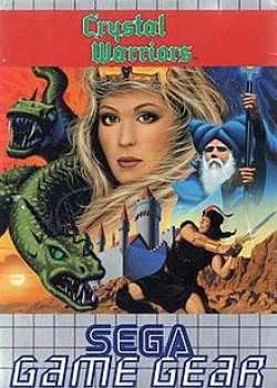 5510105487 Crystal Warriors Sega Game Gear