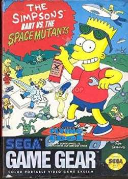 5510105494 simpsons baart vs space mutants Sega game gear