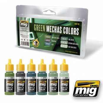 8432074071495 GREEN MECHAS COLORS SET 7149