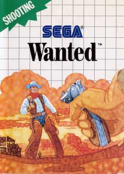 4974365633189 Wanted - MasterSystem