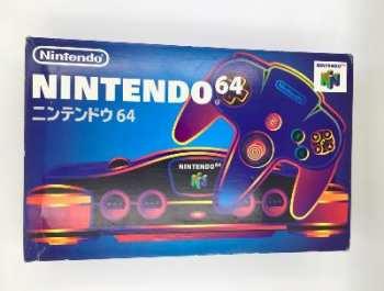 5510105630 Console Nintendo N64 JAP + Jeux (Prise Alim JAP)