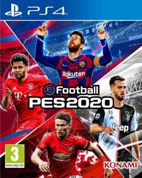 4012927104507 football Pro Evolution Soccer 2020 FR PS4