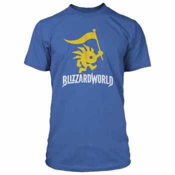 889343107818 BLIZZARD WORLD - T-SHIRT LOGO (L)