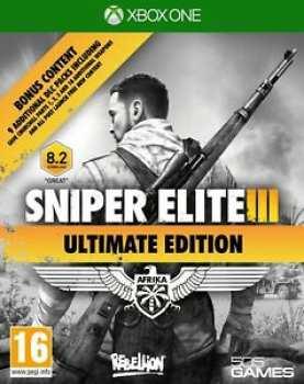 8023171036045 Sniper Elite 3 Ultimate Edition Xbox One