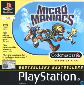 5024866242133 Micro maniacs FR PS1 bestsellers