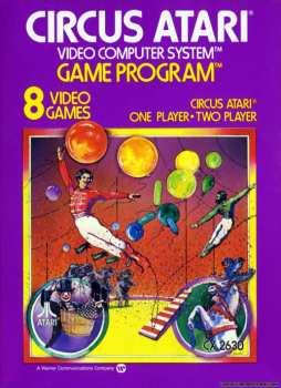 5510105857 Circus Atari (warer) CX 2630 Atari VCS 26