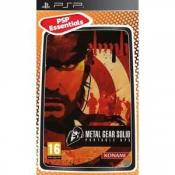 4012927065501 Metal Gear Solid Portable Ops FR PSP