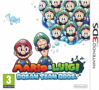 45496523893 Mario Et Luigi Dream Team Bros 3ds