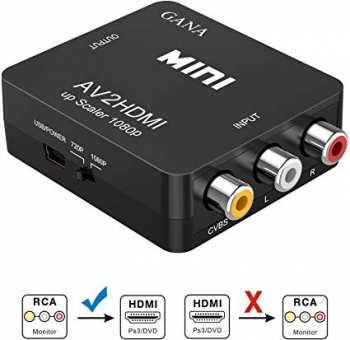 5510106275 Convertisseur Gana Mini Rca Vers Hdmi