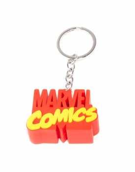 8718526119787 MARVEL COMICS - 3D METAL KEYCHAIN - 3D LOGO