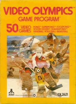 5510106470 Video Olympics (Warner) CX2621 Atari VCS 26