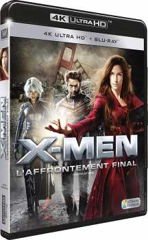 3344428101855 X-men L'affrontement Final 4k Bluray