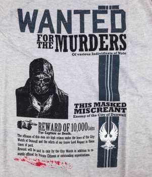 5510106668 T Shirt Dishonored Wanted Taille XL