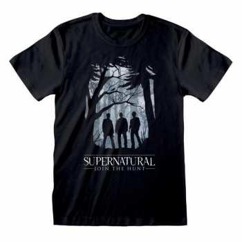 5055910345661 SUPERNATURAL - T-SHIRT - SILHOUETTE (XL)