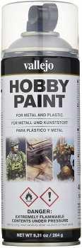 8429551280129 GUNDAM ACCESSOIRE - Aerosol Primer 400ml - Matte Black Acrylic - Peinture Noir