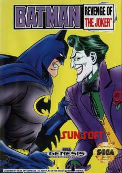 20763113038 Sega Megadrive Batman Revenge of  the joker