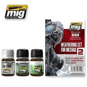 8432074074298 GUNDAM ACC - Weathering Set for Mechas