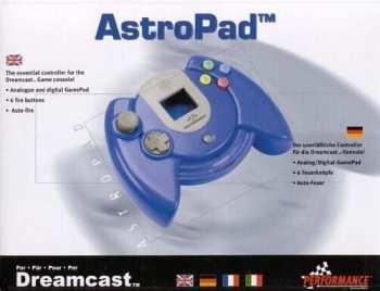 4027301700022 Manette AstroPad Bleu Dreamcast