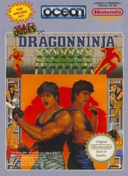 5510106857 Bad Dudes VS Dragon Ninja FR NES