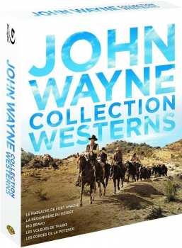 5051889545194 John Wayne Collection Western Bluray (5 bluray)