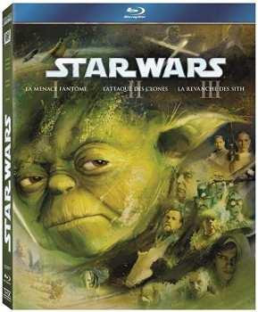 8712626073031 Star Wars Prelogie (star Wars I / II / III ) FR BR