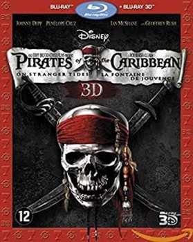 8717418324452 Pirates Caraibes La Fontaine De Jouvence Bluray 3d + Bluray