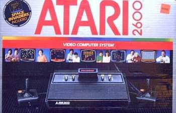 5510107020 Console Atari 2600 CX VCS V2 Noire SECAM (FRANCAIS)