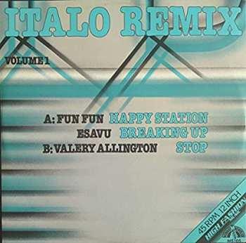 5510107081 Italo Remix Volume 1 - 45 RPM MAxi 45T 12 Inch Vinyle