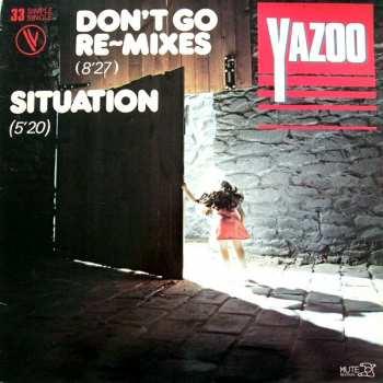 5510107091 Yazoo - Don T GO Remix Maxi 45T Vinyles VG 114 31095