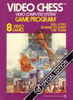 5510107130 Video chess (Atari) CX 2645 Atari 2600 VCS
