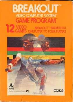 5510107133 Breakout By Steve Jobs (Atari) CX2622 Atari VCS 26