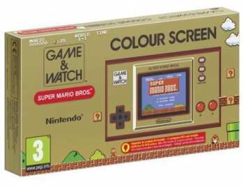 45496444914 Console Game & Watch Super Mario Bros System - Limited Edition