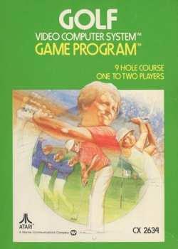 5510107153 Golf Atari - CX 2634 P Atari 2600 CX
